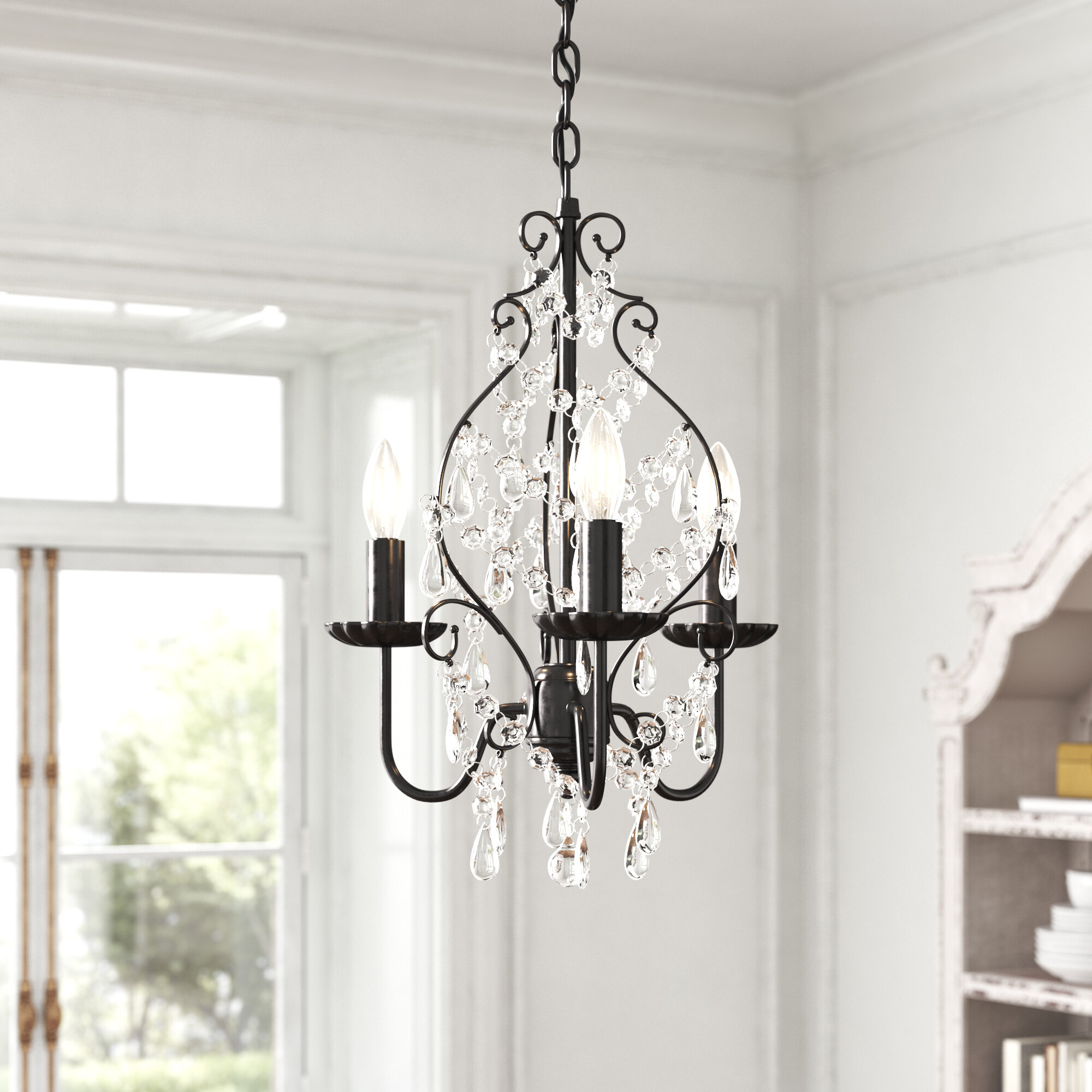 Kelly Clarkson Home Julianne 3 Light Candle Style Classic Chandelier Reviews Wayfair