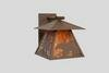 Bear Cascade 1-Light Outdoor Wall Lantern By Steel Partners Outdoor Lighting