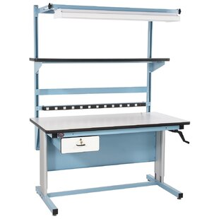 Desk Adjustable Height Workbench By Pro-Line