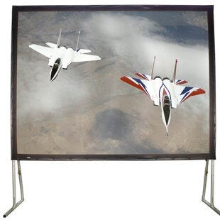 White Fixed Frame Projection Screen