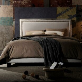 Charlton Home Misael Upholstered Panel Bed
