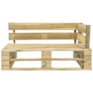 Berntsen Wooden Bench By Sol 72 Outdoor