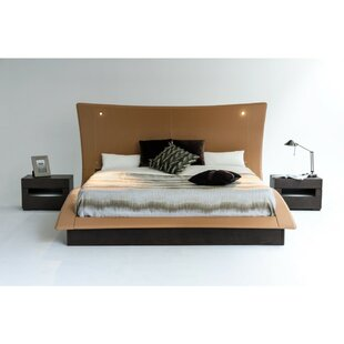 Lyerly King Upholstered Platform Bed with Mattress