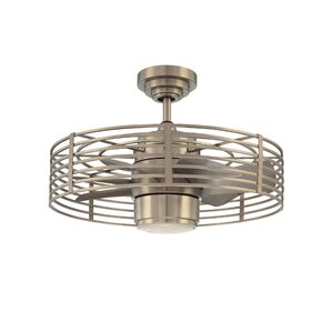 23 Glasgow 7 Blade Ceiling Fan With Wall Remote