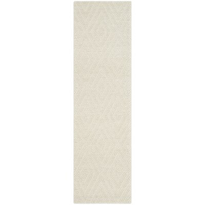 Bathild Hand-Tufted Cotton Ivory Area Rug Darby Home Co