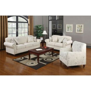Find for Hearon 3 Piece Living Room Set by Alcott Hill Reviews (2019) & Buyer's Guide