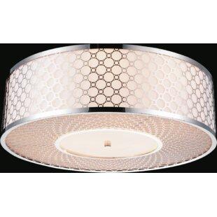 CWI Lighting 5-Light Flush Mou..