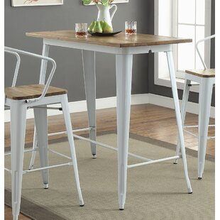 Colten Bar Height Dining Table & Bar Height Table Set | Wayfair