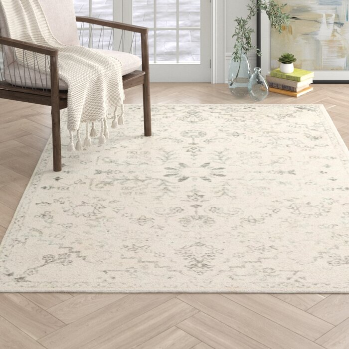 Hillsby Beige Light Gray Area Rug