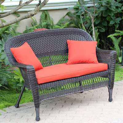 Groovy Birch Lane Heritage Alburg Loveseat With Cushions Finish Inzonedesignstudio Interior Chair Design Inzonedesignstudiocom