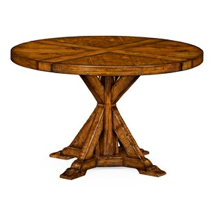Circular Solid Wood Dining Table