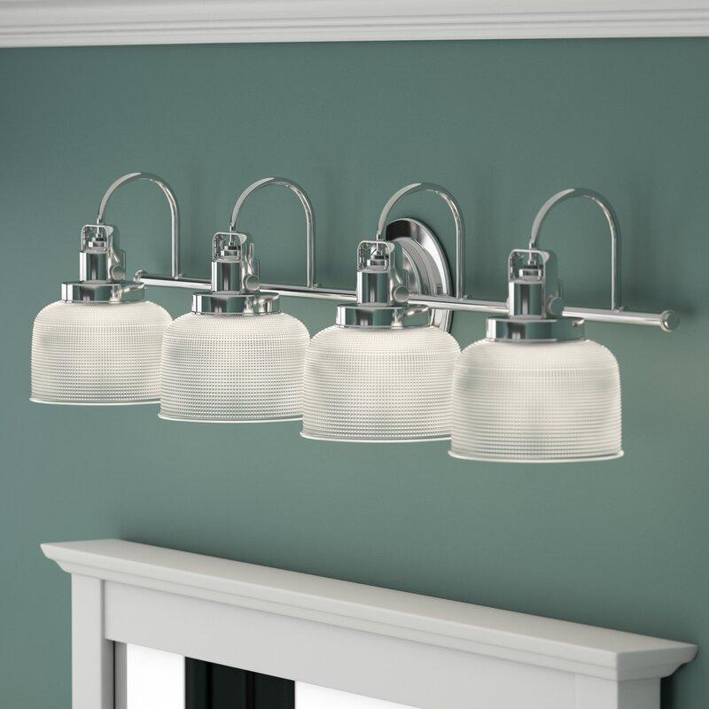 4 light vanity led gotha 4light vanity light beachcrest home reviews wayfair