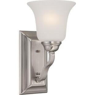 Hardin 1-Light Bath Sconce by Charlton Home