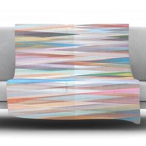 Nordic Combination II by Mareike Boehmer Fleece Throw Blanket
