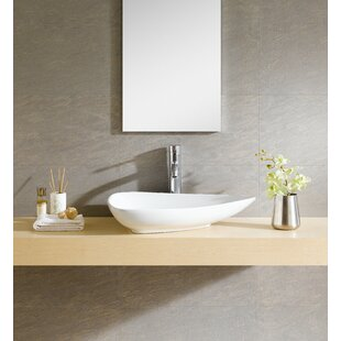 Inexpensive Modern Ceramic Specialty Vessel Bathroom Sink By Fine Fixtures