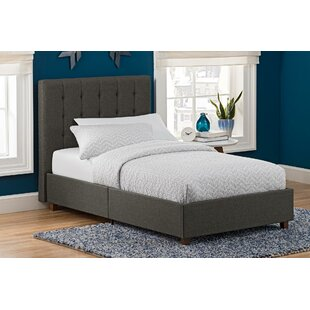 Brumiss Twin Platform Bed with Mattress by Mack & Milo