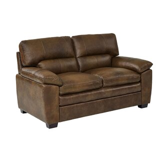 Albritton Leather Loveseat by Red Barrel Studio SKU:DE884920 Information