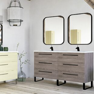 Shakia 1219mm Free-standing Double Vanity Unit By Ebern Designs