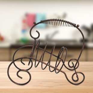 Penwortham Tabletop Wine Rack by Fleur De Lis Living