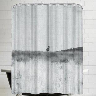 Annie Bailey Prairie Shadows Single Shower Curtain