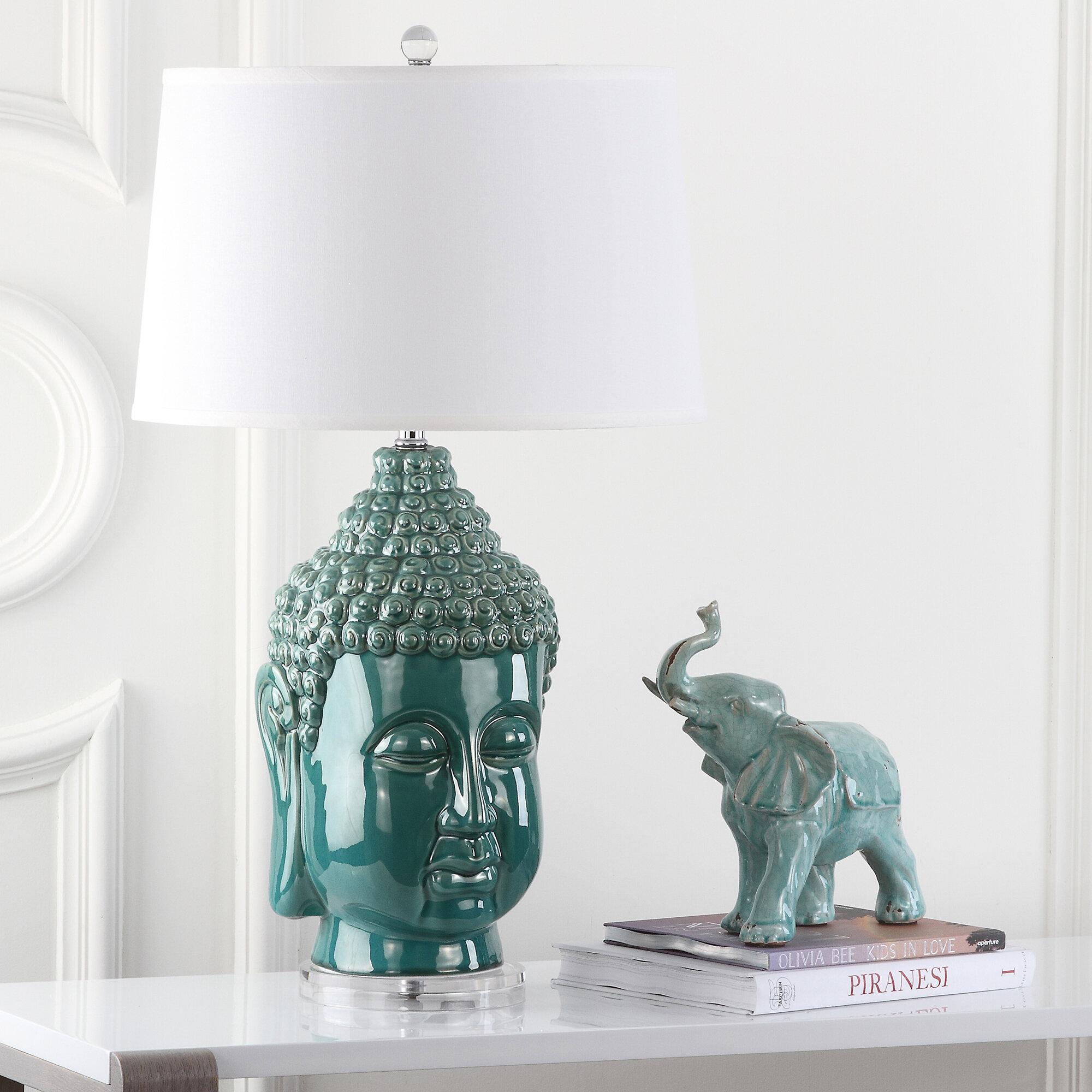 World Menagerie Baileyton Serenity Buddha 31 Table Lamp Set Reviews Wayfair