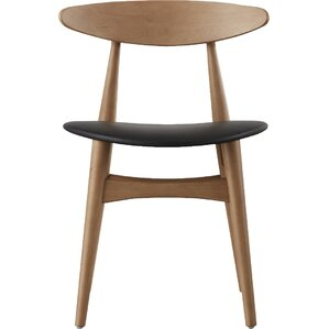Modern Wood Dining Room Chairs modern wood dining chairs | allmodern