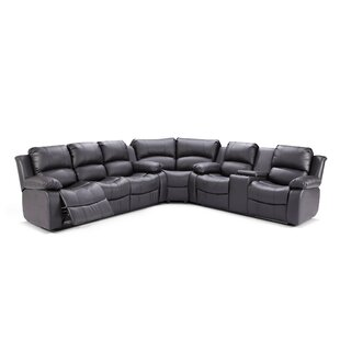 Steinbeck Symmetrical Reclining Sectional by Red Barrel Studio