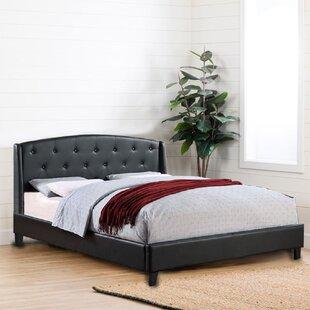 Kelowna Sleigh Standard Bed by Red Barrel Studio