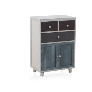 Abbi 3 Drawer Combi Chest By World Menagerie