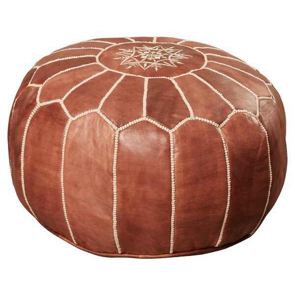Leather Made Folding Pouf Packing Of Nominated Brand Home & Garden Friendly Eco