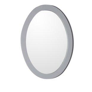 Best Price Oval Framed Bathroom/Vanity Wall Mirror ByBellaterra Home