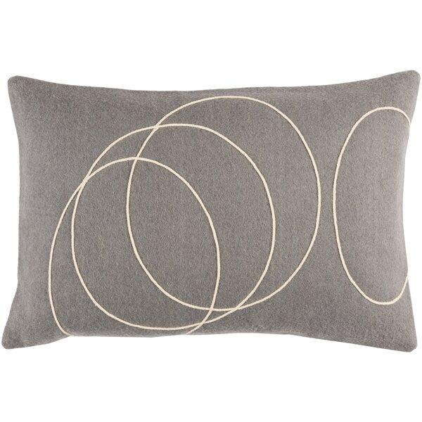 Mercer41 Wilfong Wool Lumbar Pillow Reviews Wayfair