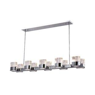 CWI Lighting Emmanuella 10-Light Kitchen Island Pendant