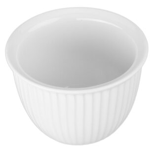 Round Ribbed Custard Cup (Set of 4)