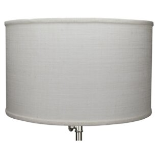 18 Burlap Drum Lamp Shade