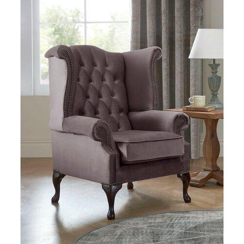 Ohrensessel Tamesbury Ophelia & Co. Polsterfarbe: Lavendel | Wohnzimmer > Sessel > Ohrensessel | Ophelia & Co.