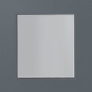 Read Reviews Spillers Matte Aluminum Framed Bathroom/Vanity Mirror By Orren Ellis