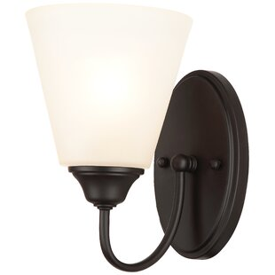 Reviews Script 1-Light Armed Sconce By Hardware House