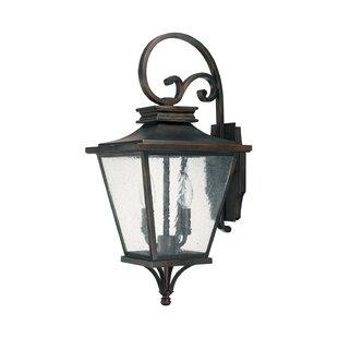 Kallie 2-Light Outdoor Wall Lantern by Al..