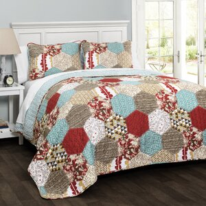 Claycomb 3 Piece Quilt Set