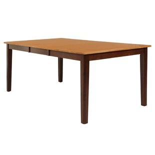 Loon Peak Kaw City Solid Wood Dining Table