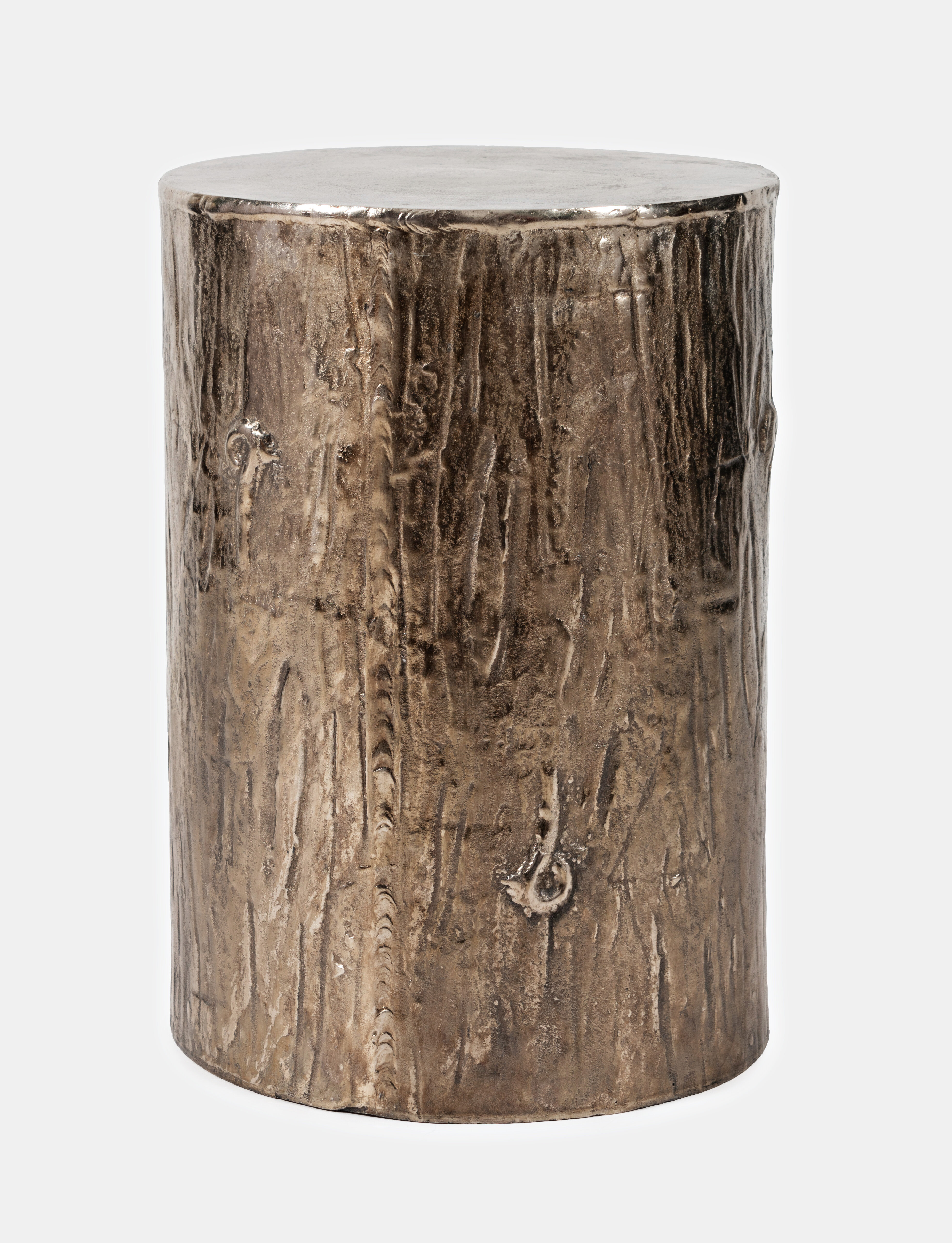 Foundry Select Hollo Drum End Table Reviews Wayfair