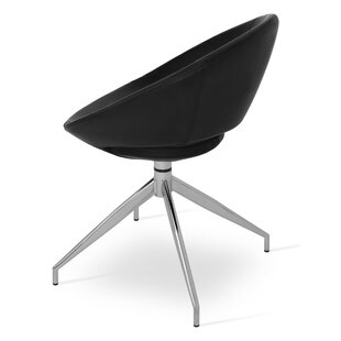 Crescent Spider Swivel Side Chair by soho..