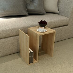 Gerhart Modern End Table by Ebern Designs