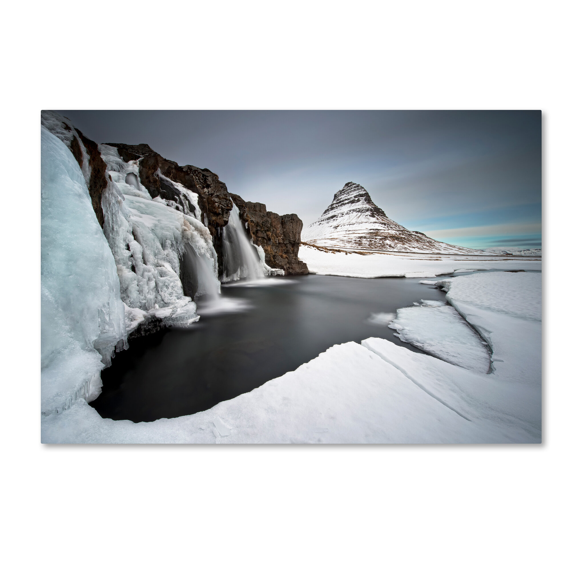 Trademark Art Grundarfjordur Photographic Print On Wrapped Canvas Wayfair