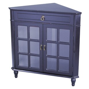 Toth 2 Door Corner Accent Cabinet by August Grove
