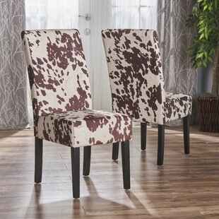 Homan Upholstered Dining Chair (Set of 2) Union Rustic