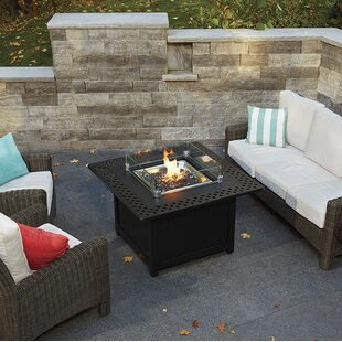 Kensington Aluminum Propane/Natural Gas Fire Pit Table