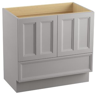 Damask? 36 Vanity with Toe Kick, 2 Doors and 1 Drawer by Kohler