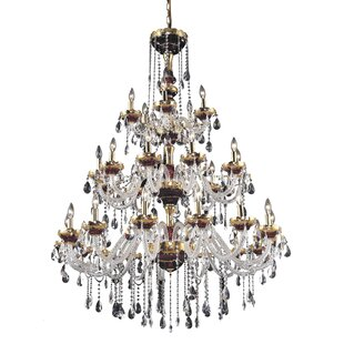 Astoria Grand Schroeppel 30-Light Candle Style Chandelier